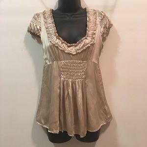 Nanette Lepore Silk blouse sz 2